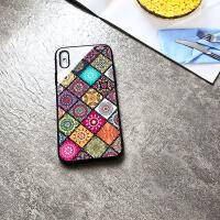 苹果x手机壳iphone8plus7plus玻璃xsmax网红xr七硅胶i6splus八女款六7