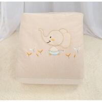 婴儿被儿童宝宝被子幼儿园小被子棉被纯棉新生儿秋冬季棉花被加厚
