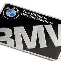 宝马车贴金属汽车装饰个性创意3D立体划痕遮挡3系5系车身贴外饰品