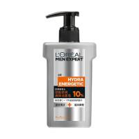 欧莱雅 男士洗面奶劲能舒润10%液体洁面皂150ml