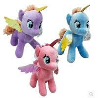 可爱毛绒玩具小马宝莉公仔毛绒玩具娃娃儿童生日礼物女孩