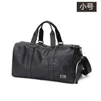 旅游大包男包斜挎包单肩包行李包大容量旅行包休闲包手提包健身包 黑色小号 中