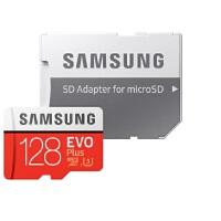 三星(SAMSUNG)128GB TF(MicroSD)存储卡TF卡 U3 4K EVO升级版+ 读速100MB/s行