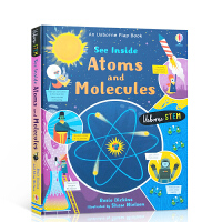 【全店300减100】英文原版Usborne 原子和分子 See Inside Atoms and Molecules