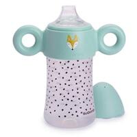 宝宝学饮杯防摔进口硅胶防漏鸭嘴儿童婴儿喝水杯a121