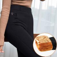 №【2019新款】冬天穿的加绒裤女加肥加大码加厚打底裤外穿中年妈妈超厚棉裤胖mm高腰