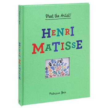 认识艺术家:Henri Matisse亨利·马蒂斯 英文儿童立体书 艺术启蒙 6-12岁 善本图书 汇聚全球出版物,让阅读改变生活,给你无限知识