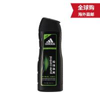 阿迪达斯(adidas) 男士洗发水 控油去屑洗发露 控油劲爽-柠檬精华-400ml