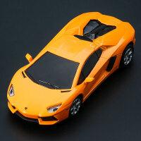 彩珀1:32合金汽车声光触摸玩具车 仿真兰博基尼跑车模型男孩礼物 兰博基尼 - 埃文塔多 橙色
