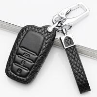 丰田钥匙包于18款凯美瑞汉兰达普拉多霸道RAV4钥匙套钥匙扣