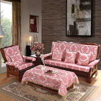实木沙发垫 单人三人座沙发坐垫联邦春秋椅垫带靠背木头