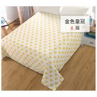 无荧光剂纯棉婴儿床单单件新生儿卡通幼儿园宝宝床单床上用品定做