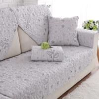 买沙发上面的垫子沙发垫四季通用全棉布艺防滑坐垫简约现代实木北欧沙发套沙发巾罩
