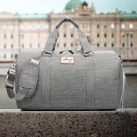 手提旅行包男包短途出差行李袋大容量行李包健身包女运动单肩斜挎