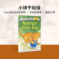 英文原版 Biscuit Plays Ball(I Can Read)小饼干玩球