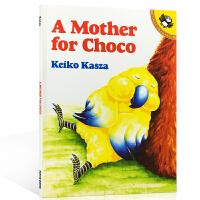 【全场300减100】英文原版绘本 A Mother for Choco 秋秋找妈妈 启蒙0-1-2-3岁儿童纸板图画温