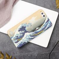 日系神奈川8手机壳磨砂mix2s全包硬壳note3个性6x/5x/8se/9se 小米6 神奈川(全包)