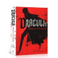 【全店300减100】吸血鬼德古拉 英文原版Dracula Bram Stoker中学生文学小说经典课外阅读书籍读物AL