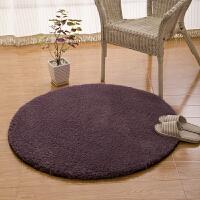 羊羔绒 加厚圆形地毯地垫客厅卧室电脑椅垫圆形吊篮藤椅地毯地垫