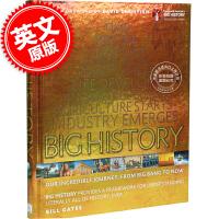 现货 英文原版 Big History: Our Incredible Journey from Big Bang t