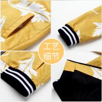 【3折到手价:71.7】铅笔俱乐部童装2018秋冬新款男童长袖外套中大童拉链外套儿童夹克