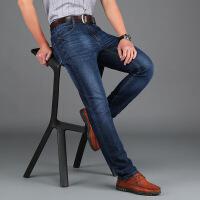 战地吉普男式牛仔裤 春夏新款休闲时尚纯棉水洗牛仔长裤707