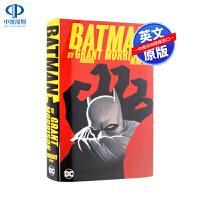 现货蝙蝠侠新版漫画合集 1卷 硬壳精装收藏版英文原版 DC漫画 Batman by Grant Morrison Omn