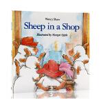 【顺丰包邮】英文进口原版 Sheep in a Shop 小羊逛商店 廖彩杏推荐 N. Shaw 朗朗上口 启蒙入门