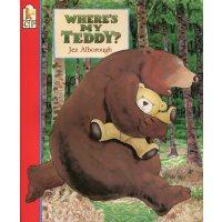 英文绘本 原版进口 Where's My Teddy? 我的泰迪熊在哪儿? 廖彩杏书单 [3-7岁]