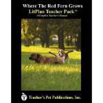 【预订】Litplan Teacher Pack: Where the Red Fern Grows