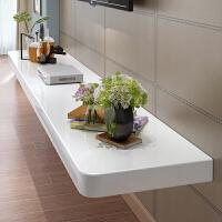 电视墙置物架搁板客厅机顶盒壁挂装饰墙上电视柜实木烤漆一字隔板