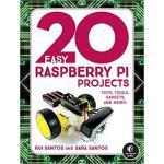 【预订】20 Easy Raspberry Pi Projects: Toys, Tools, Gadgets, an