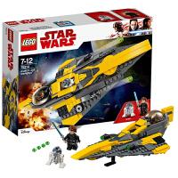 当当自营LEGO乐高starwars/星球大战系列安纳金的绝地星际战机75214塑料积木玩具