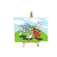 创意礼品 数字油画客厅房间动漫卡通儿童手绘画 装饰画