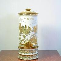 陶瓷净水器净水缸储水桶水缸储水罐家用水壶过滤器饮水机带龙头