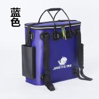 折叠加厚EVA水箱钓鱼桶单层防水鱼护包鱼护桶养鱼箱装鱼桶钓箱