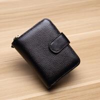 新款女士钱包短款多功能一体化卡包女式皮夹子男士皮驾驶证皮套