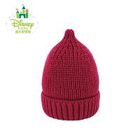 迪士尼Disney婴儿帽子秋冬宝宝帽子 男女儿童帽子韩版奶嘴帽164P764