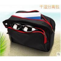 户外手提游泳包干湿分离防水包沙滩包便携式游泳装备用品大容量收纳包