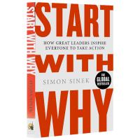 现货英文原版 从询问开始 Start With Why 激励者 经管小说书籍 TED 领导力演讲作者 进口 正版