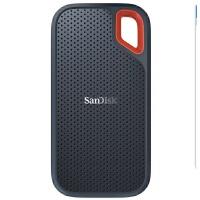 SanDisk闪迪E60 1TB 移动固态硬盘 Type-c 1T移动硬盘固态盘传输速度550MB/s