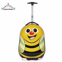 儿童行李拉杆箱蜜蜂红甲虫企鹅恐龙动物登机旅行