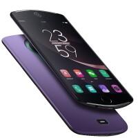 优品美图T8s背夹充电宝美图t8专用夹背电池无线充电器壳手机壳式 美图T8/T8S 紫色