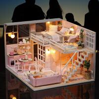 儿童玩具手工娃娃屋过家家6-7-8-9-10岁小学生女孩生日礼物
