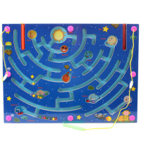 20180509230624950磁性迷宫子宝宝磁力儿童3-4-6岁女孩男孩智力运笔走珠玩具