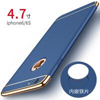 苹果6手机壳iphone6plus套六磨砂6s潮男7p磁吸i8后壳6p新款ipone女款超薄硬壳个性