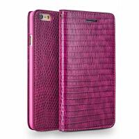 4.7寸iphone6s 手机壳 苹果6手机套真皮保护套翻盖皮套 女款 4.7寸iphone6/6s 鳄鱼纹玫红