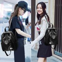 时尚女包双肩包2018新款时尚百搭包包麦包包旅行背包