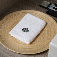 纯棉吸水小方巾小毛巾儿童家用擦手洗脸情侣创意面巾 2条装 35x35cm