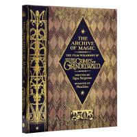 现货正版 神奇动物在哪里2 英文原版The Archive of Magic 魔法档案设定集精装进口 Wizardry of Fantastic Beasts 2 格林德沃之罪